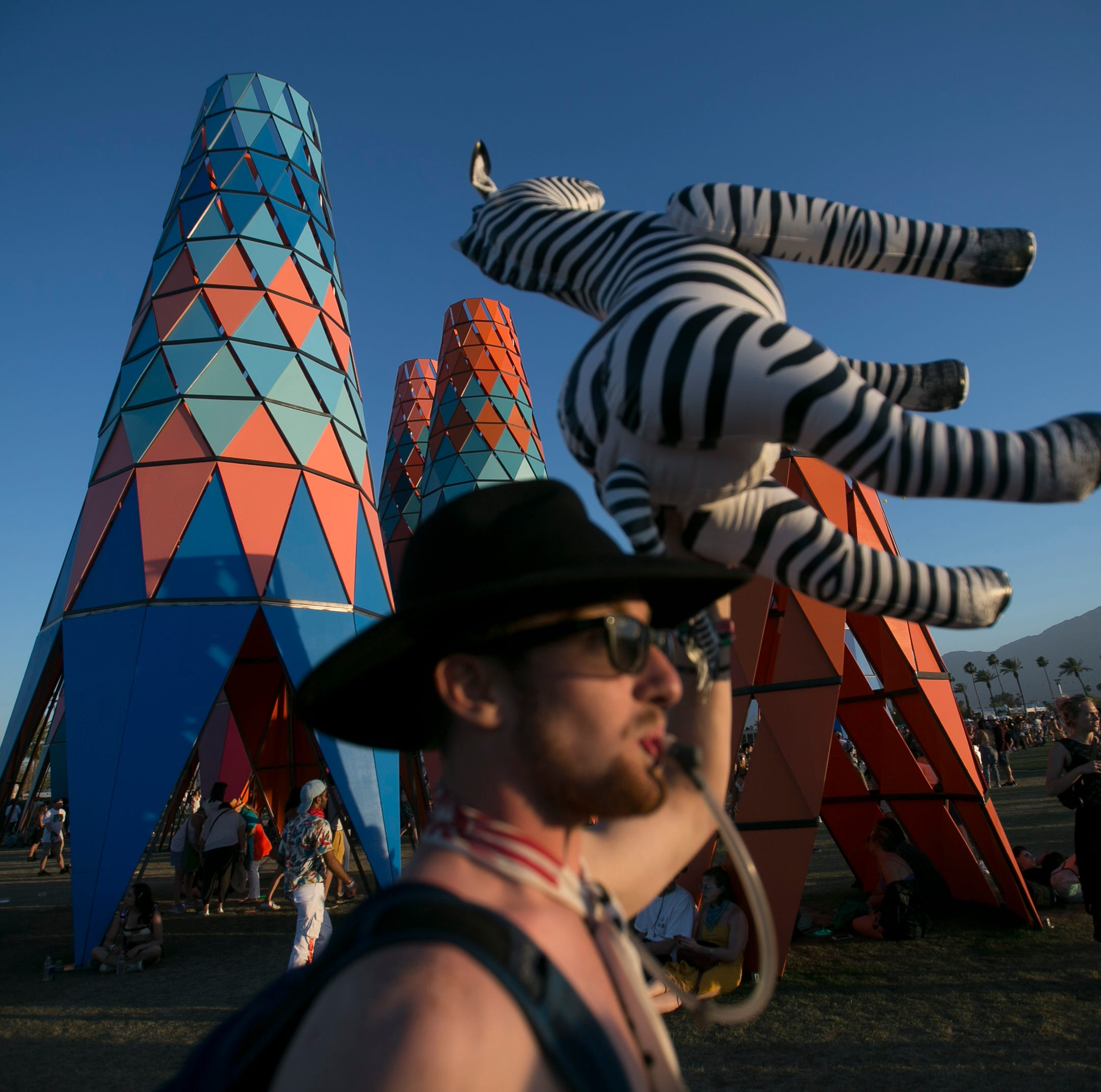 Sharing Coachella fest's art with the public at large could reap rewards