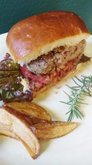 Lamb burgers with rosemary and garlic offer a delicious twist on spring burgers.