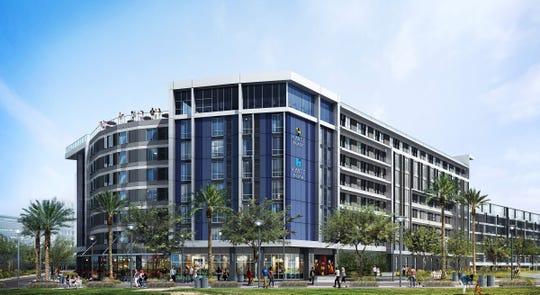 The hotel will be marketed under two Hyatt brands, Hyatt Place and Hyatt House.