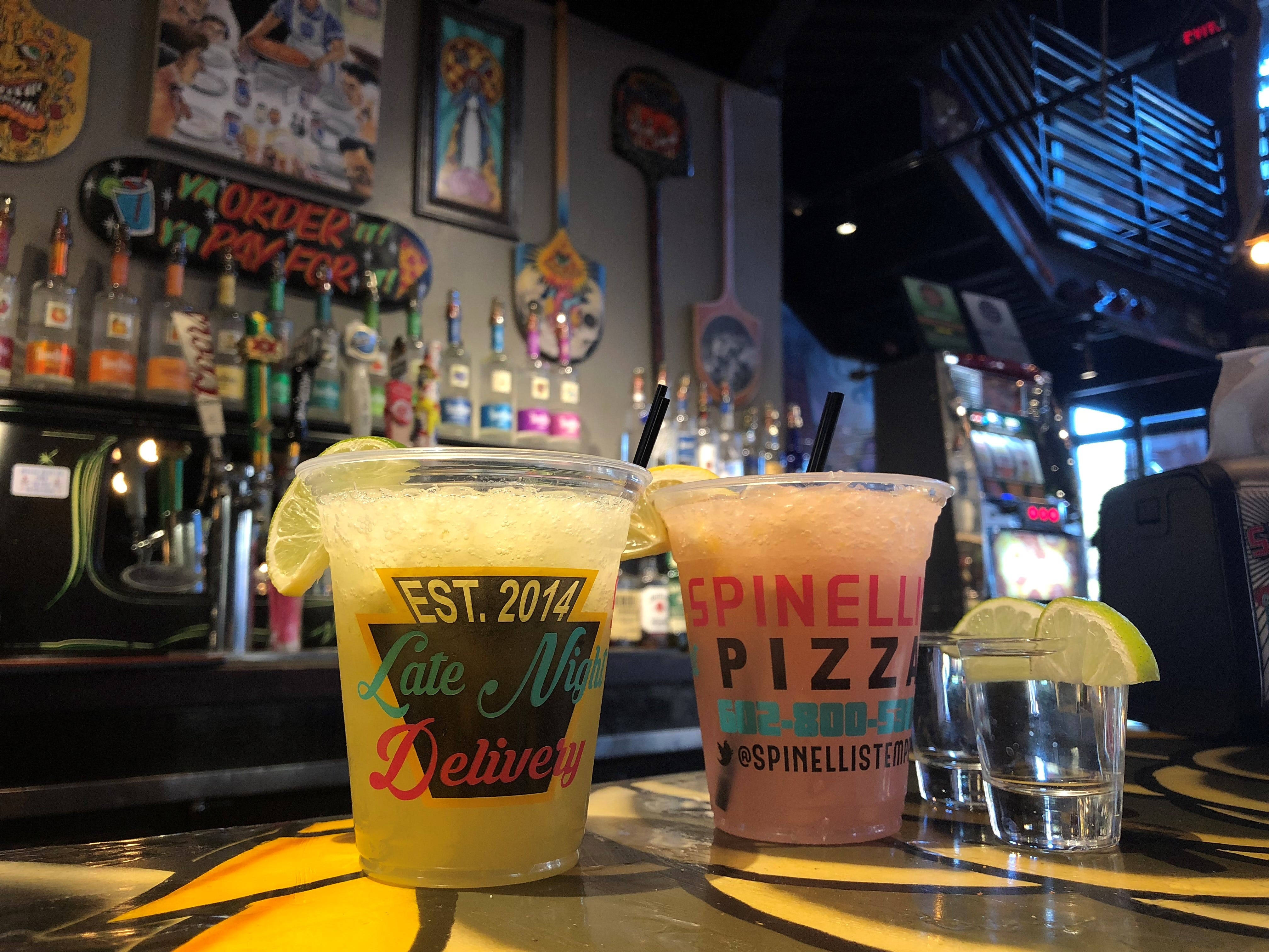Spinelli's Pizzeria| Toast with $6 Patrons, $5 margaritas & AMF's and $4 Dos Equis.Details: 420 S. Mill Ave., Tempe. 602-800-5300, spinellispizzeria.com