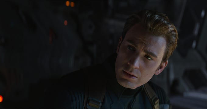 "Chris Evans stars in ""Avengers: Endgame."""
