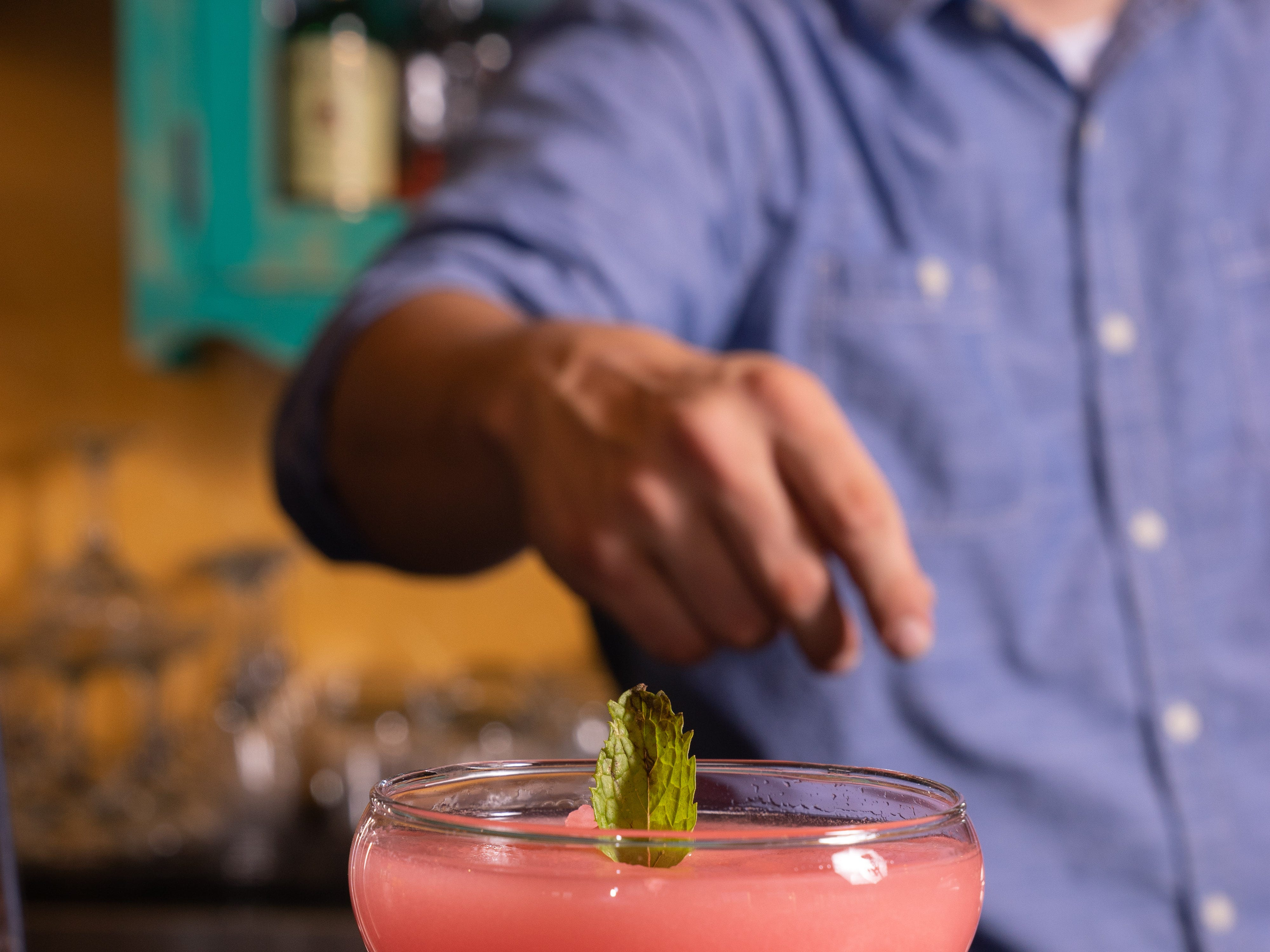 Ghost Ranch | Get the signature Prickly Pear Frose 'Rita for $5. The frozen cocktail is made with blanco tequila, rose, wine prickly pear and lime.Details: 1006 E. Warner Road, Tempe. 480-474-4328, ghostranchaz.com