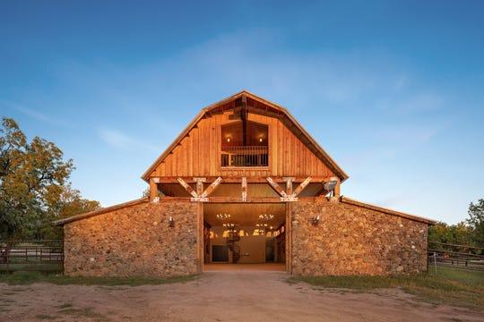 The barn at Terra Farm + Manor in Prescott National Forest.