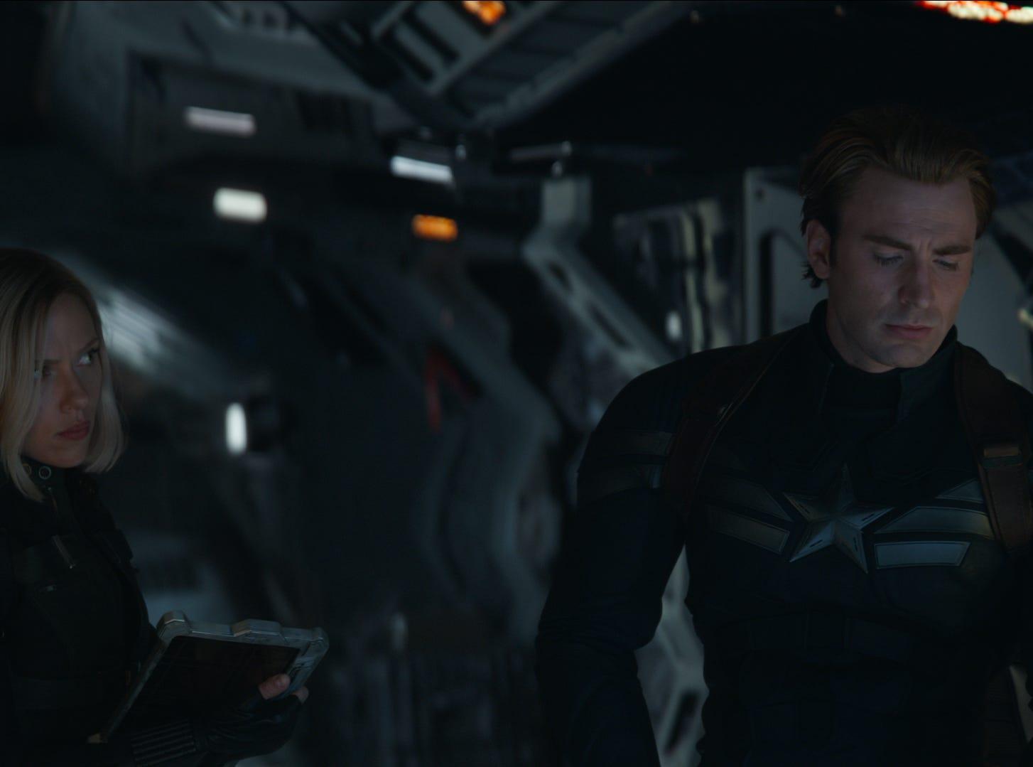 """Scarlett Johansson and Chris Evans star in """"Avengers: Endgame."""""""