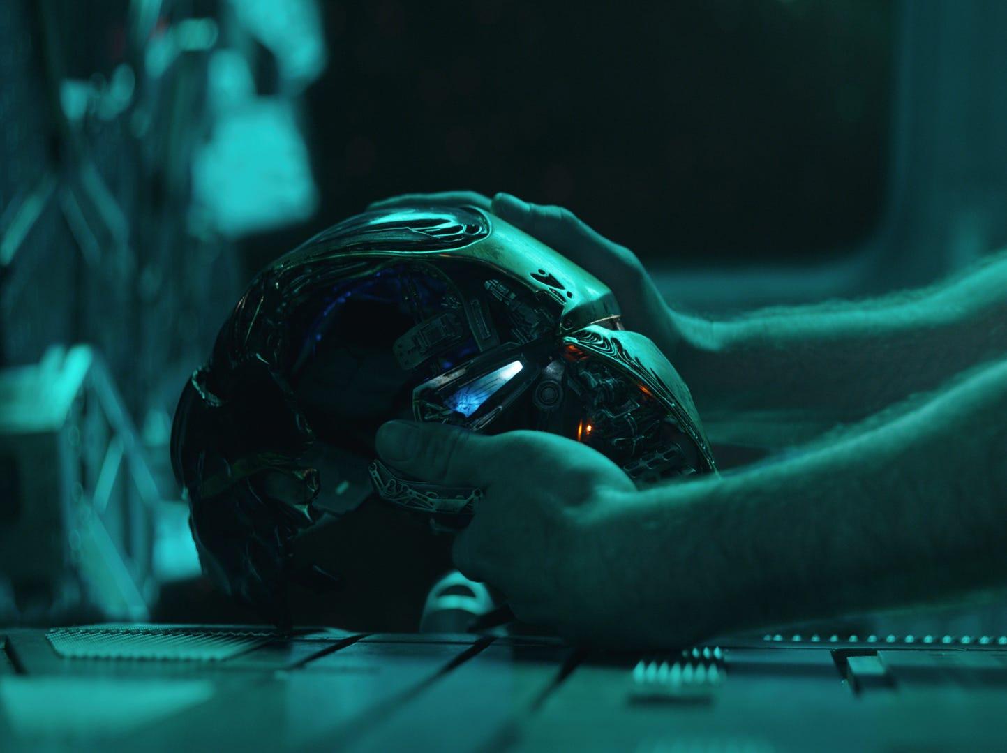 "In ""Avengers: Endgame,"" what's going on with Tony Stark (Robert Downey Jr.)?"