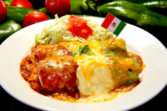 Serrano's Mexican Restaurants | From April 29-May 4, choose from a bevvy of specials leading up to the holiday. Munch on two Mexican flag enchiladas ($9.99) with your choice of shredded beef or chicken, red sauce, green sauce and fundido sauce, Cinco layer dip ($6.99) and light saber churros ($2.99). Pair them with a 16-ounce blue agave house margarita ($5), 16-ounce Mexican draft beer ($4) or go for it with the margarita sampler board ($8.99) that features 4-ounce samples of orange, black raspberry, melon and pomegranate flavors. Details: 6440 S. Rural Road, Tempe. 480-345-0044. Also, 22703 S. Ellsworth Road, Queen Creek. 480-987-0192. Other locations at serranosaz.com.