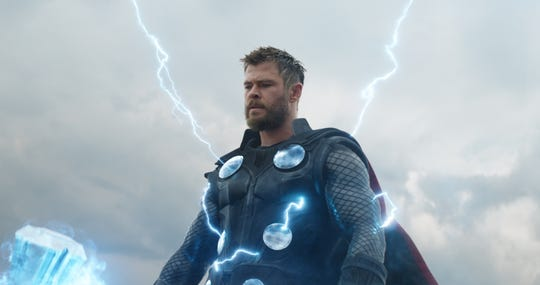 "Chris Hemsworth is Thor in ""Avengers: Endgame."""