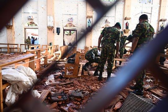 Más de 290 muertos en Sri Lanka tras explosiones.