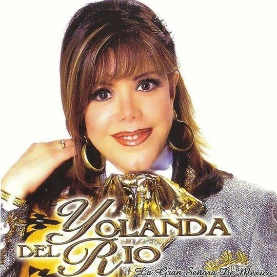 Yolanda del Río, invitada la 1ra Convención Anual de Mariachi a celebrarse en próximo 3 de mayo en el Celebrity Theatre.