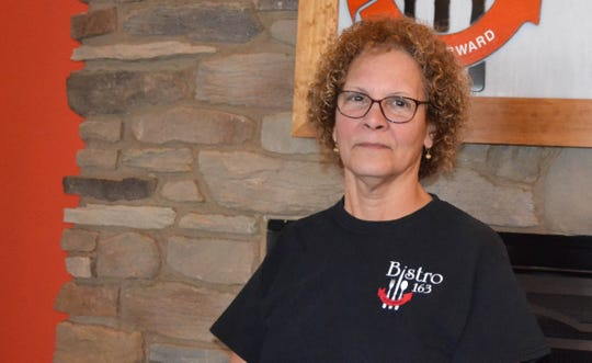 """Babette """"Babs"""" Klacik is the new manager at Port Clinton's pay-it-forward restaurant, Bistro 163."""