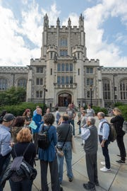 Free public walking tours of the Vassar College campus will be held April 27 and June 1.
