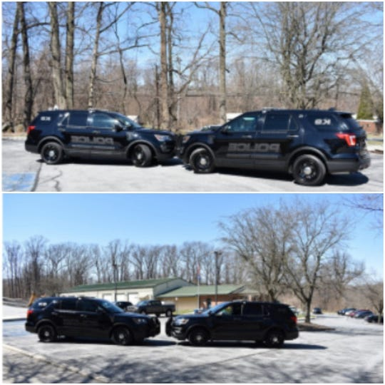 "Newberry Township Police has outfitted its two K-9 vehicles with ""ghost"" graphics, where the police decals can only be seen in direct sunlight."