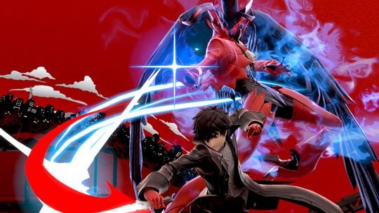 Persona 5's Joker in Super Smash Bros. Ultimate for the Nintendo Switch.