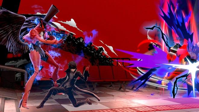 Persona 5's Joker in Super Smash Bros. Ultimate for the Nintendo Switch.