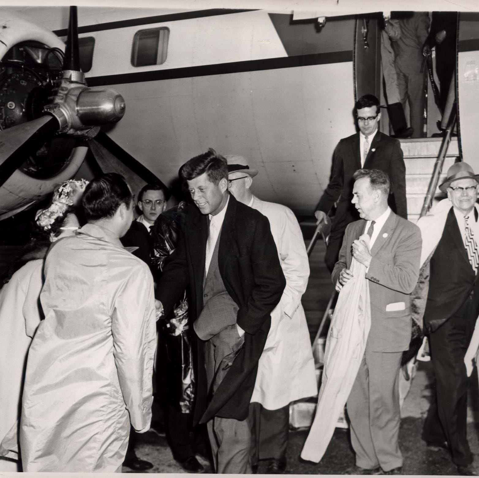 Out of Our Past: JFK and RFK both visited Richmond, exactly eight years apart