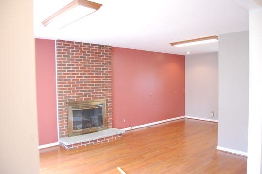 Before staging the home needed updating