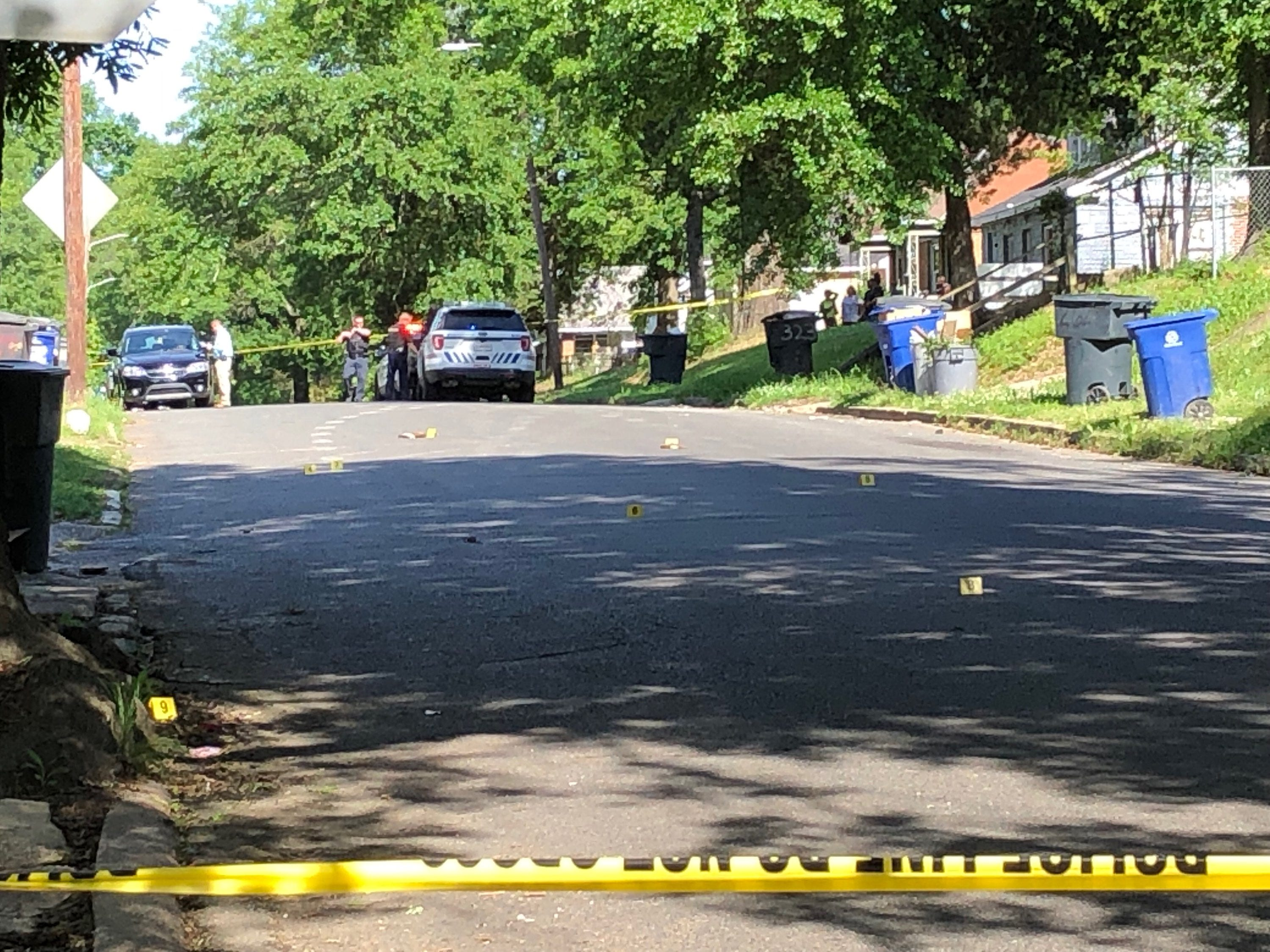 Two injured in Highland shooting