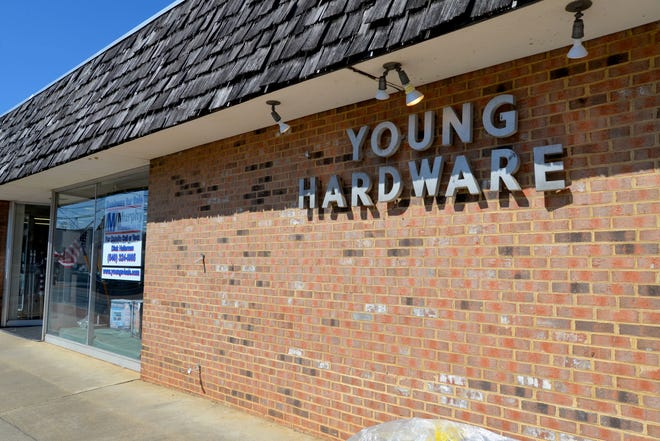 Young Hardware in downtown Staunton is for sale. Owner Richard Young wants to retire. He purchased the business from his father in 1990 and the store was originally opened in 1954.