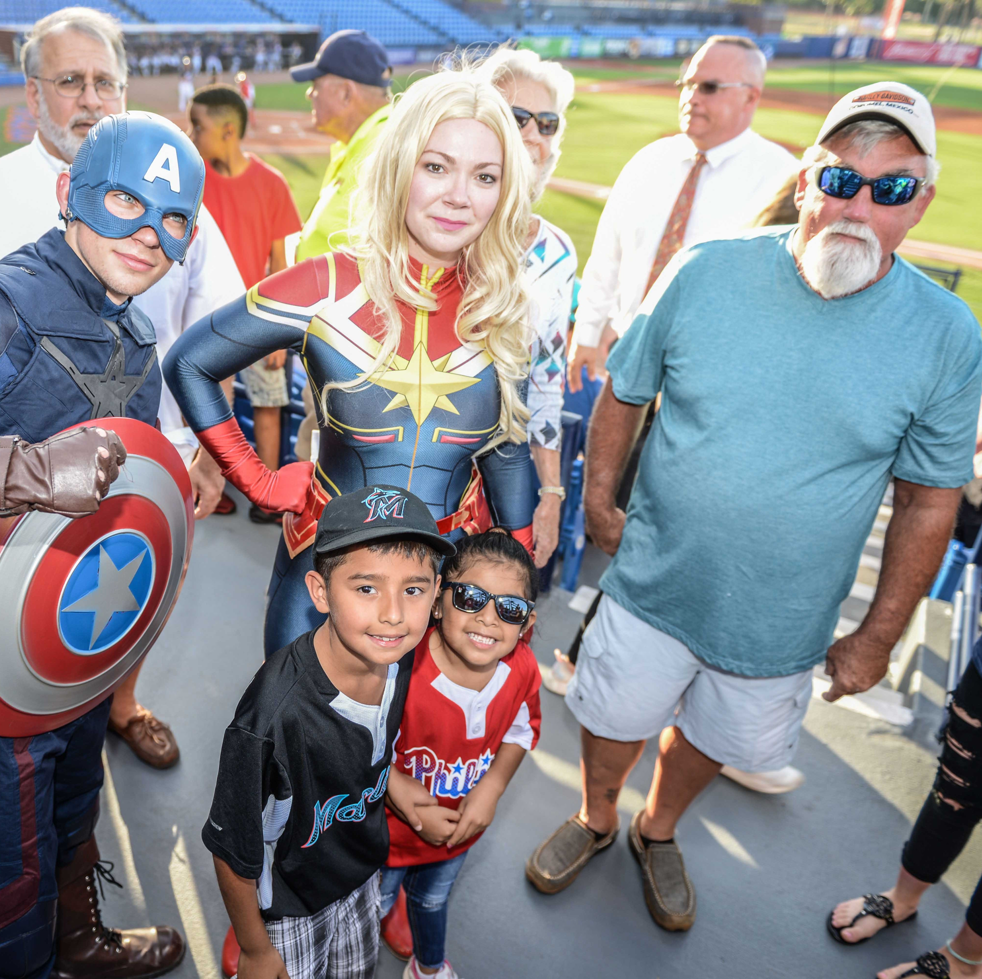 St. Lucie Mets fans get to 'Be A Hero' for Voices for Children of Okeechobee and Treasure Coast