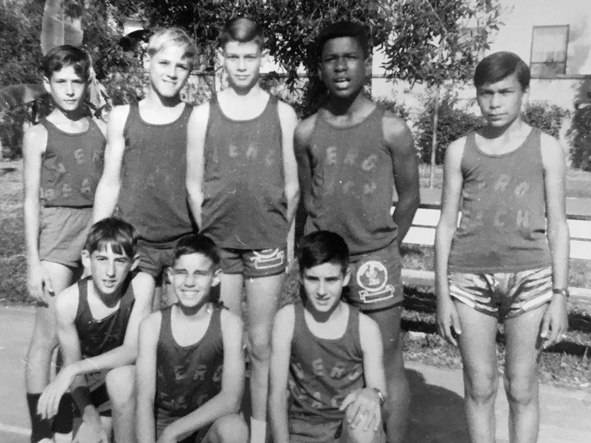 The Vero Beach Recreation Department had a boys basketball team in 1969 called the Little Indians.