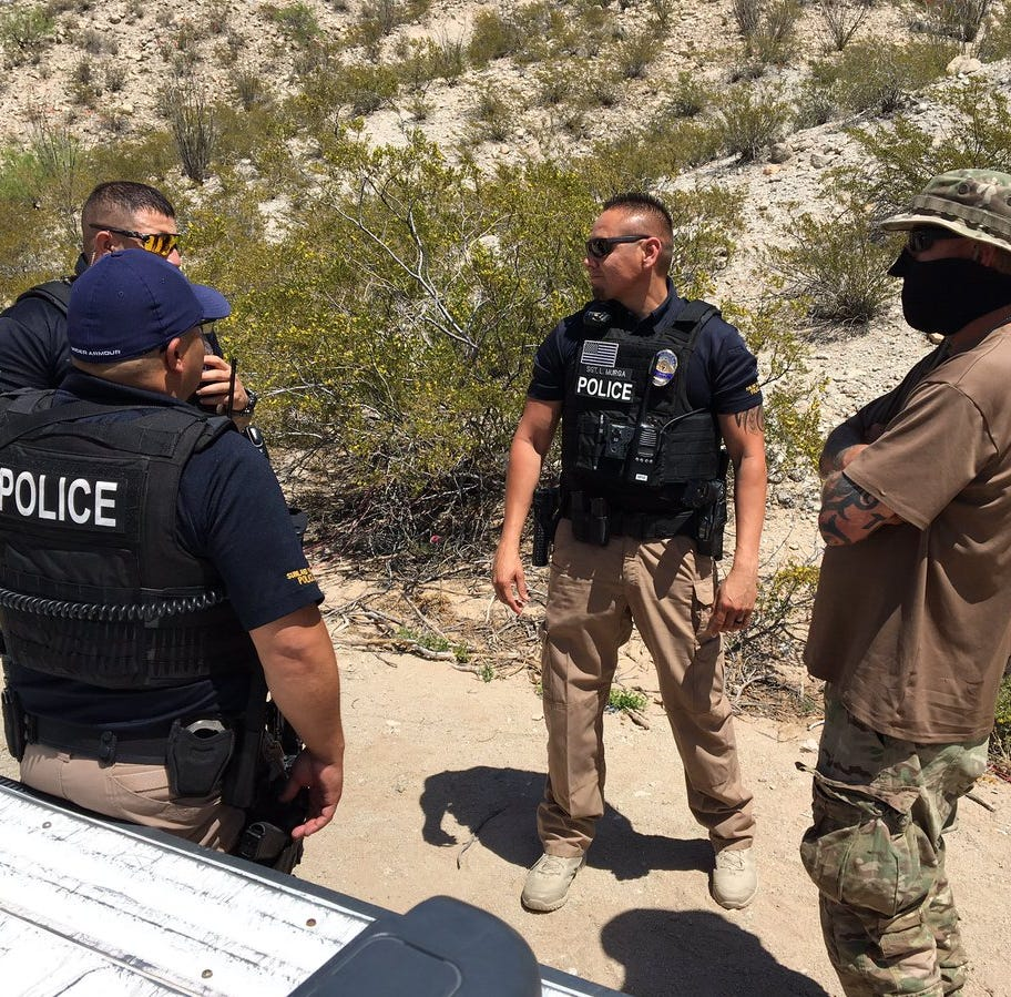 Border militia group United Constitutional Patriots kicked out of Sunland Park, NM, camp