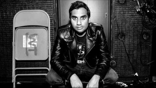 Aziz Ansari will perform at the Oxnard Performing Arts and Convention Center on June 26.