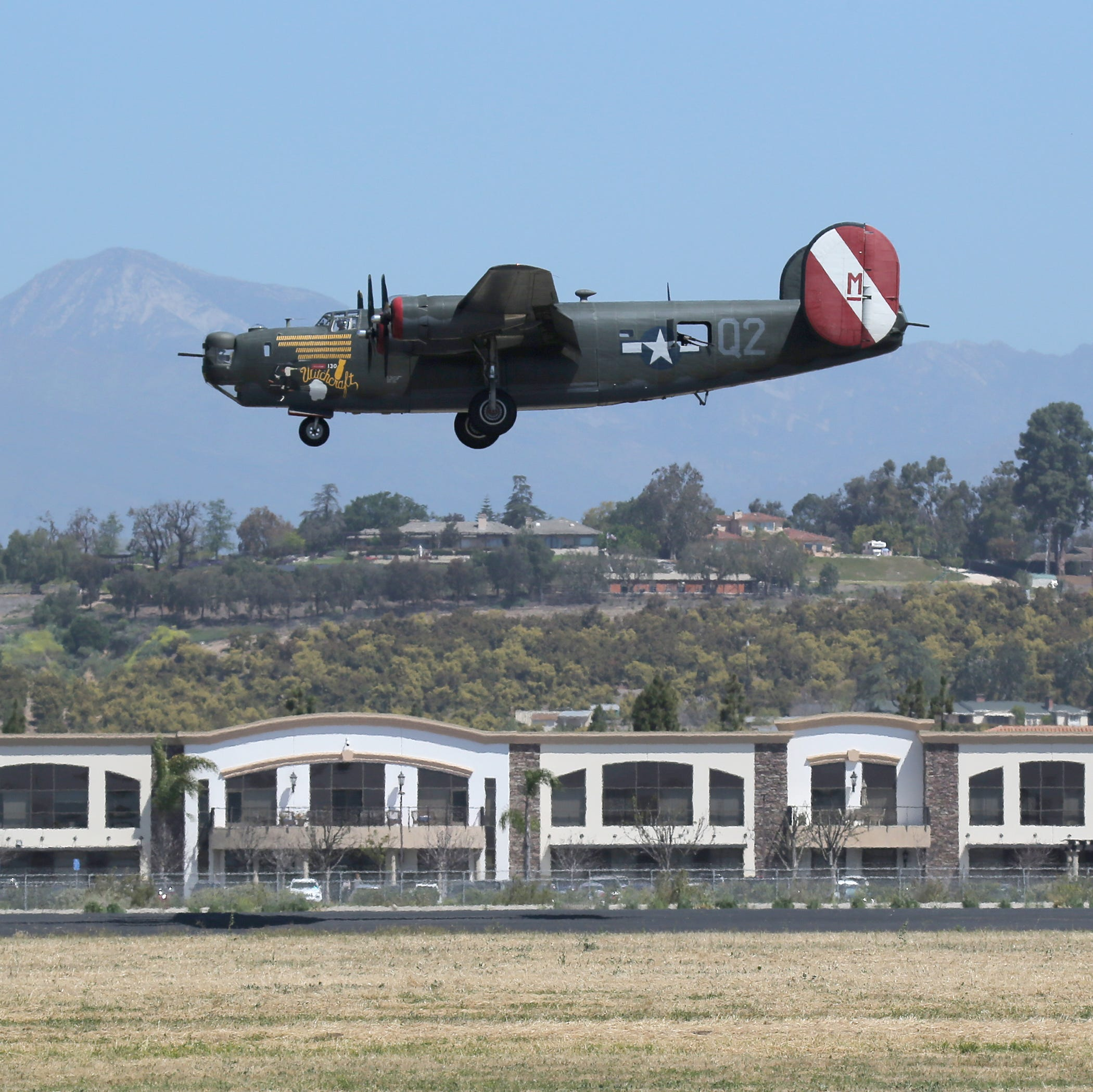 Rare World War II planes rumble into Camarillo, to remain on display through Thursday