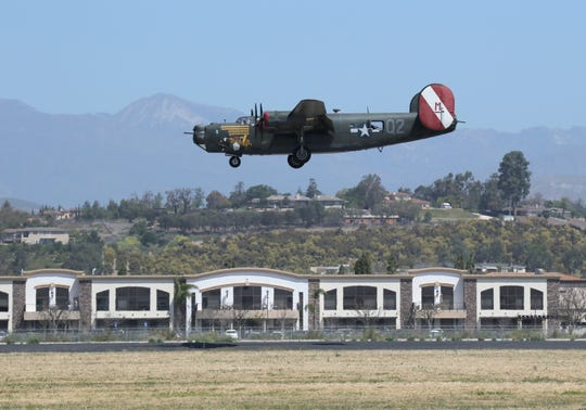 The Wings of Freedom Tour's B-24 Liberator