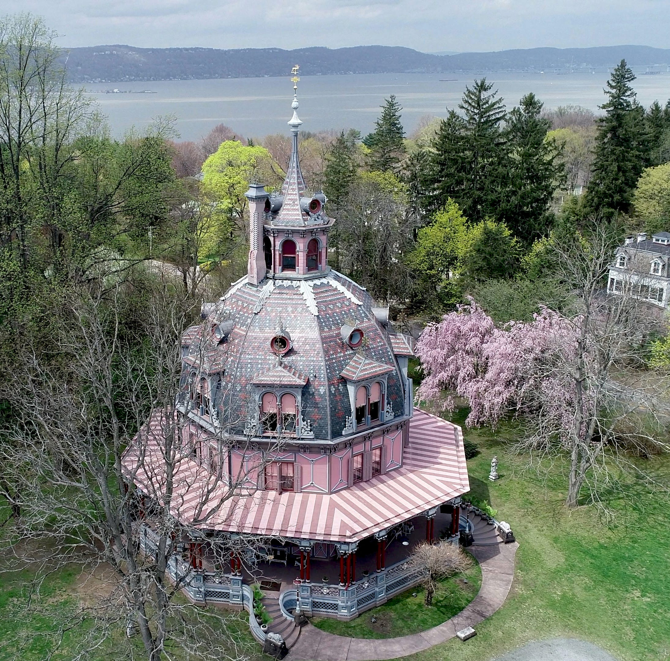 The Armour-Stiner Octagon House in Irvington April 22, 2019.