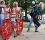 Cajun Fest Bike Rack Unveiling