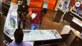 Robbers were caught on camera smashing through glass display cases at a jewelry store in Atlanta. The two stole an estimated $100,000 in jewelry.
