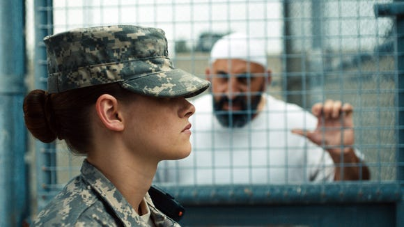 """Kristen Stewart plays a rookie guard at Guantanamo Bay in """"Camp X-Ray."""""""