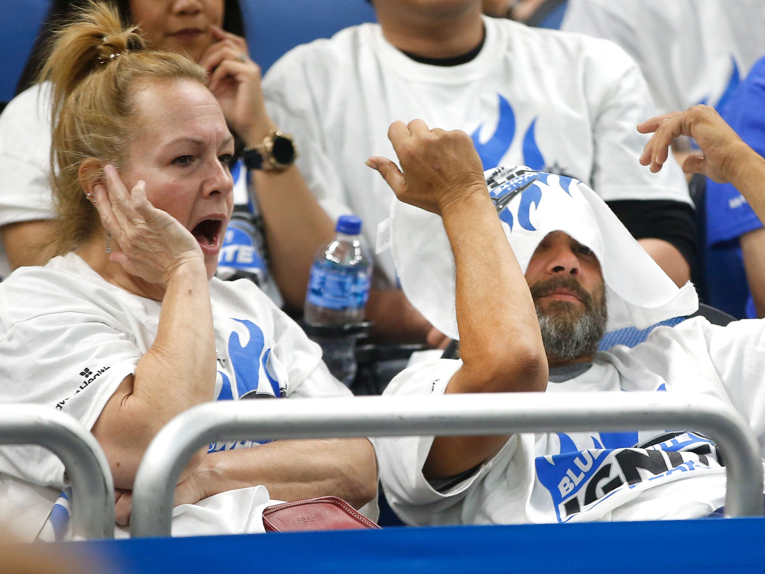 April 21: Fans react as the Magic lose to the Raptors in Game 4.