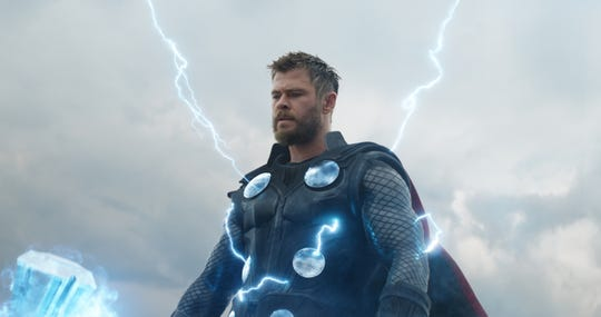 "Thor (Chris Hemsworth) has a score to settle with a certain space baddie in ""Avengers: Endgame."""