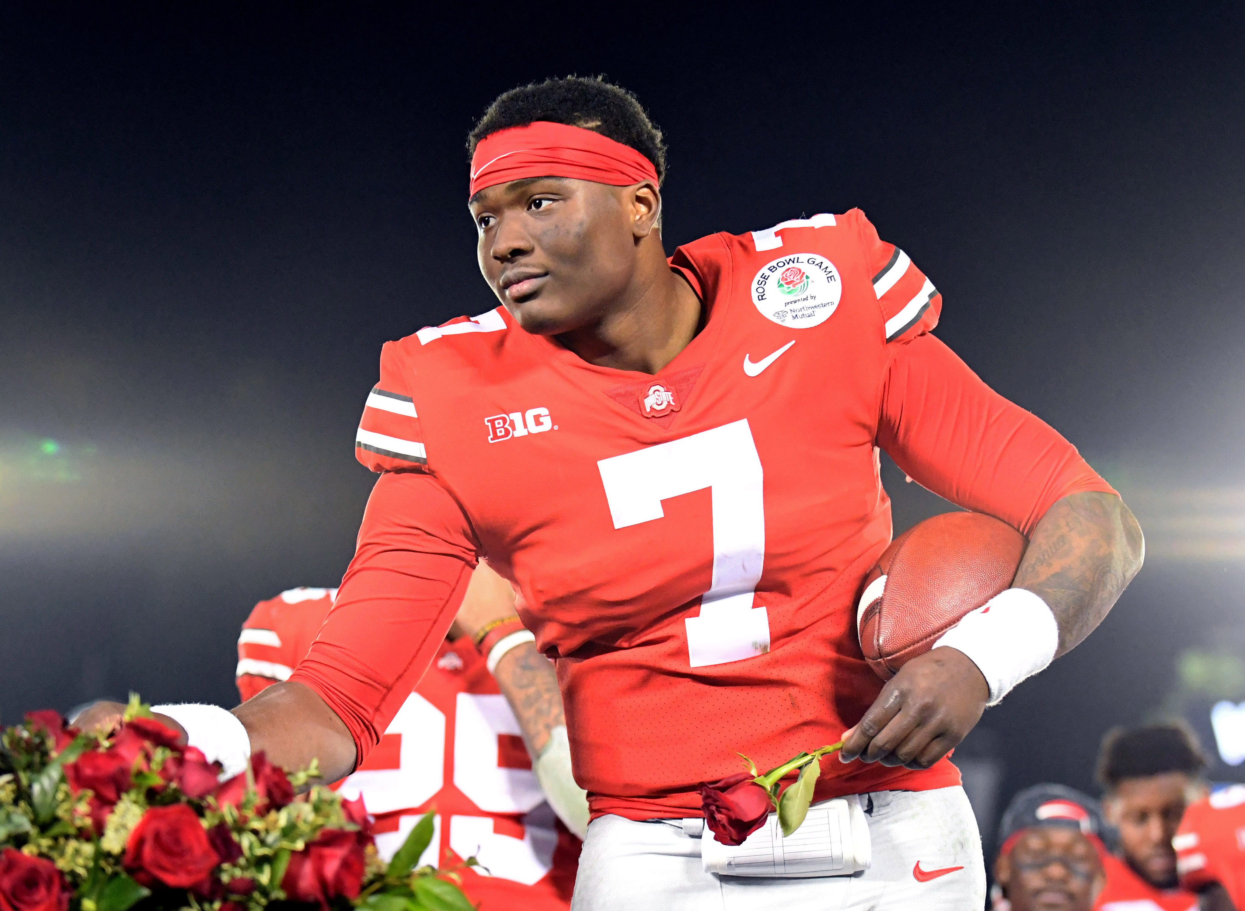 Opinion: Ohio State QB Dwayne Haskins keeps his cool, tunes out talk of slide in NFL draft