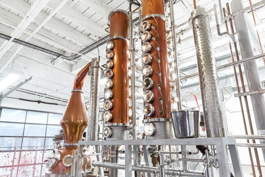 Granville Island's The Liberty Distillery offers behind-the-scenes weekend tours to educate visitors about how its gin, vodka and whiskey are made.