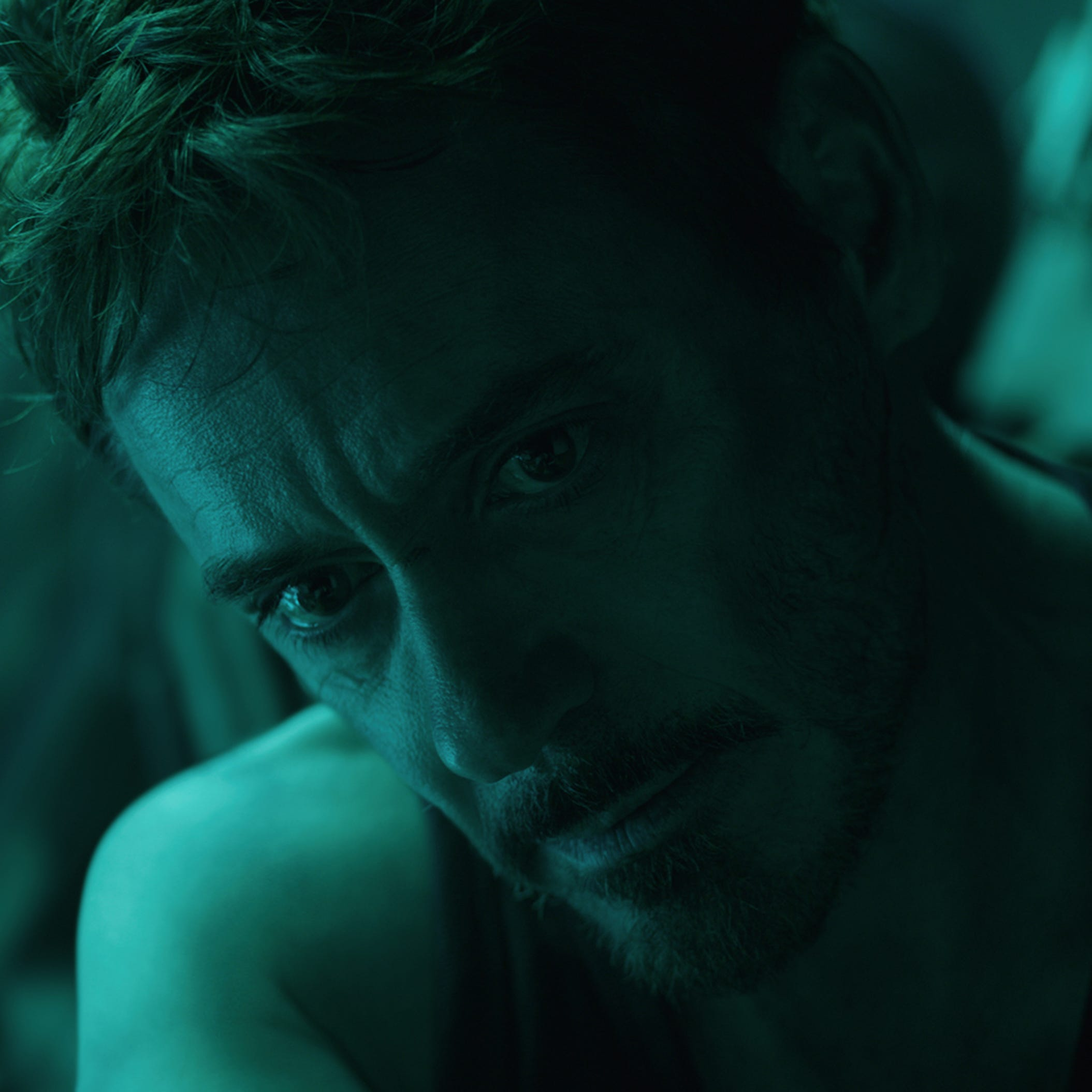 "Iron Man (Robert Downey Jr.) in ""Avengers: Endgame."""