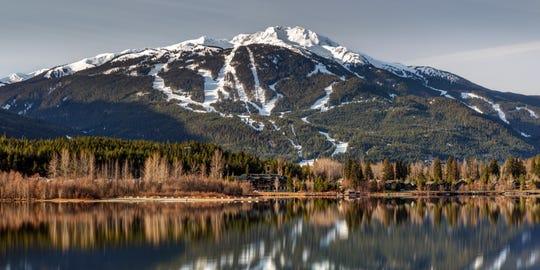 Green Lake, near the skiing and hiking mecca of Whistler, British Columbia.