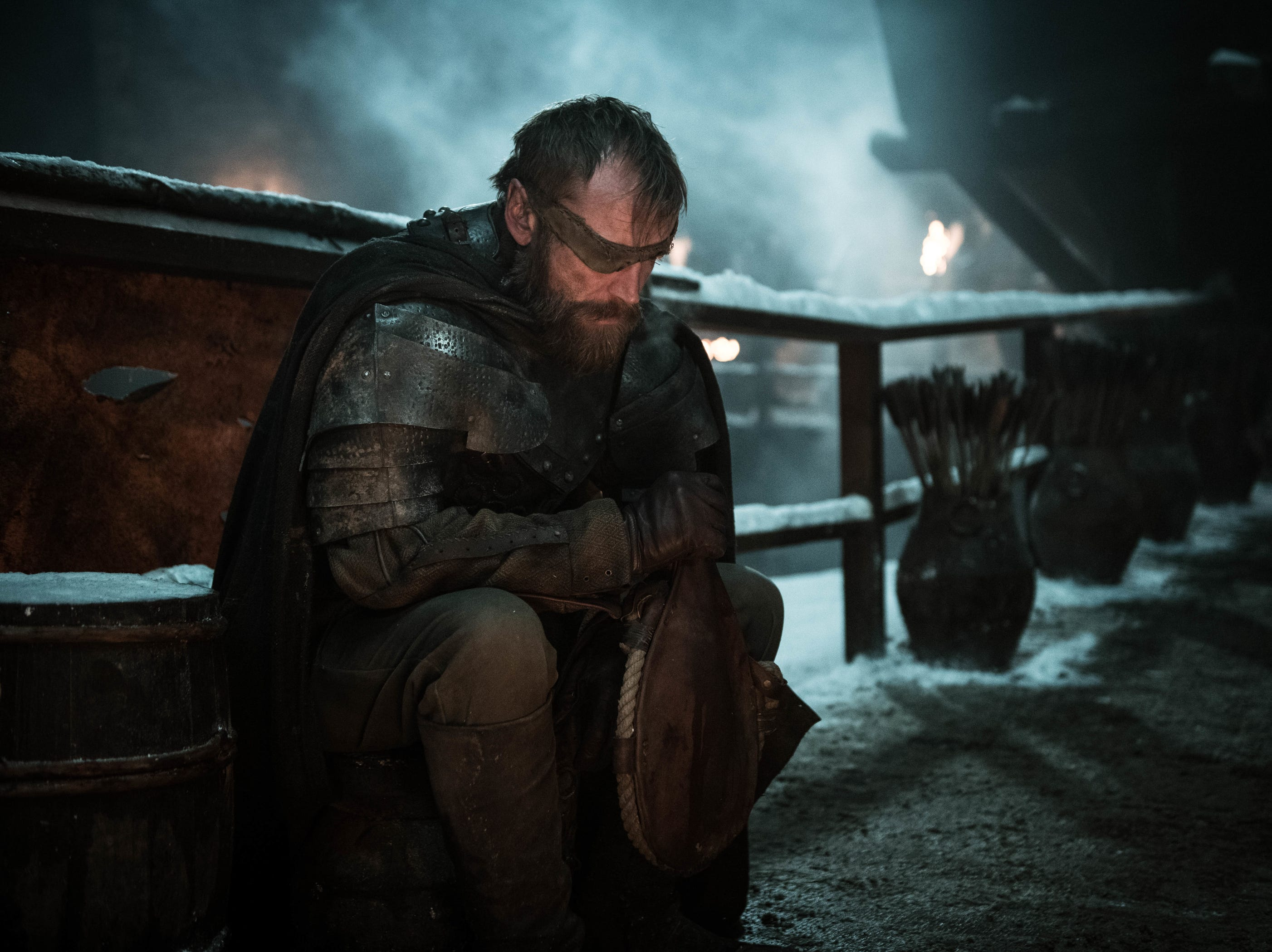 Richard Dormer as Beric Dondarrion on 'Game of Thrones.'