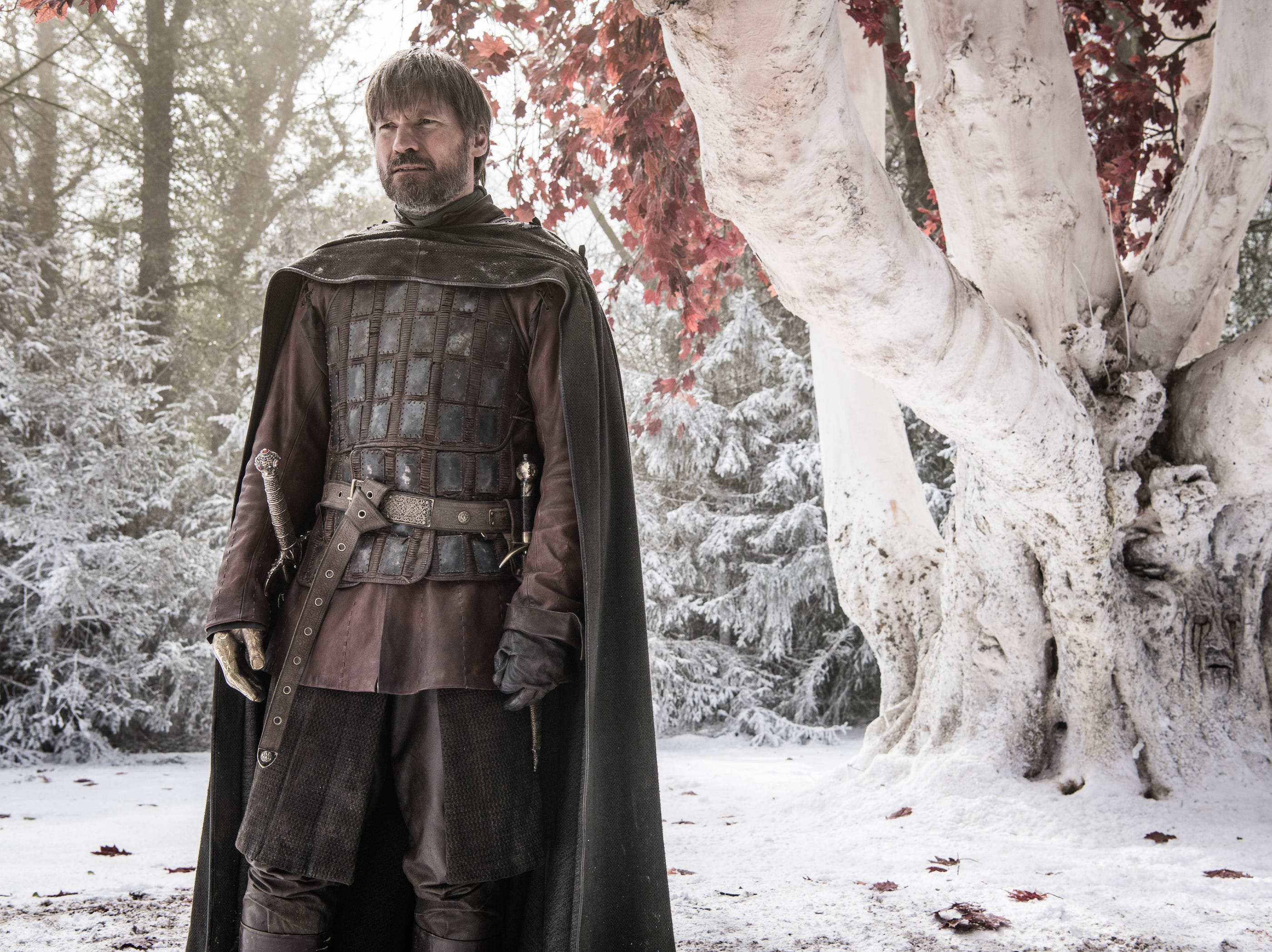 Nikolaj Coster-Waldau as Jaime Lannister on 'Game of Thrones.'