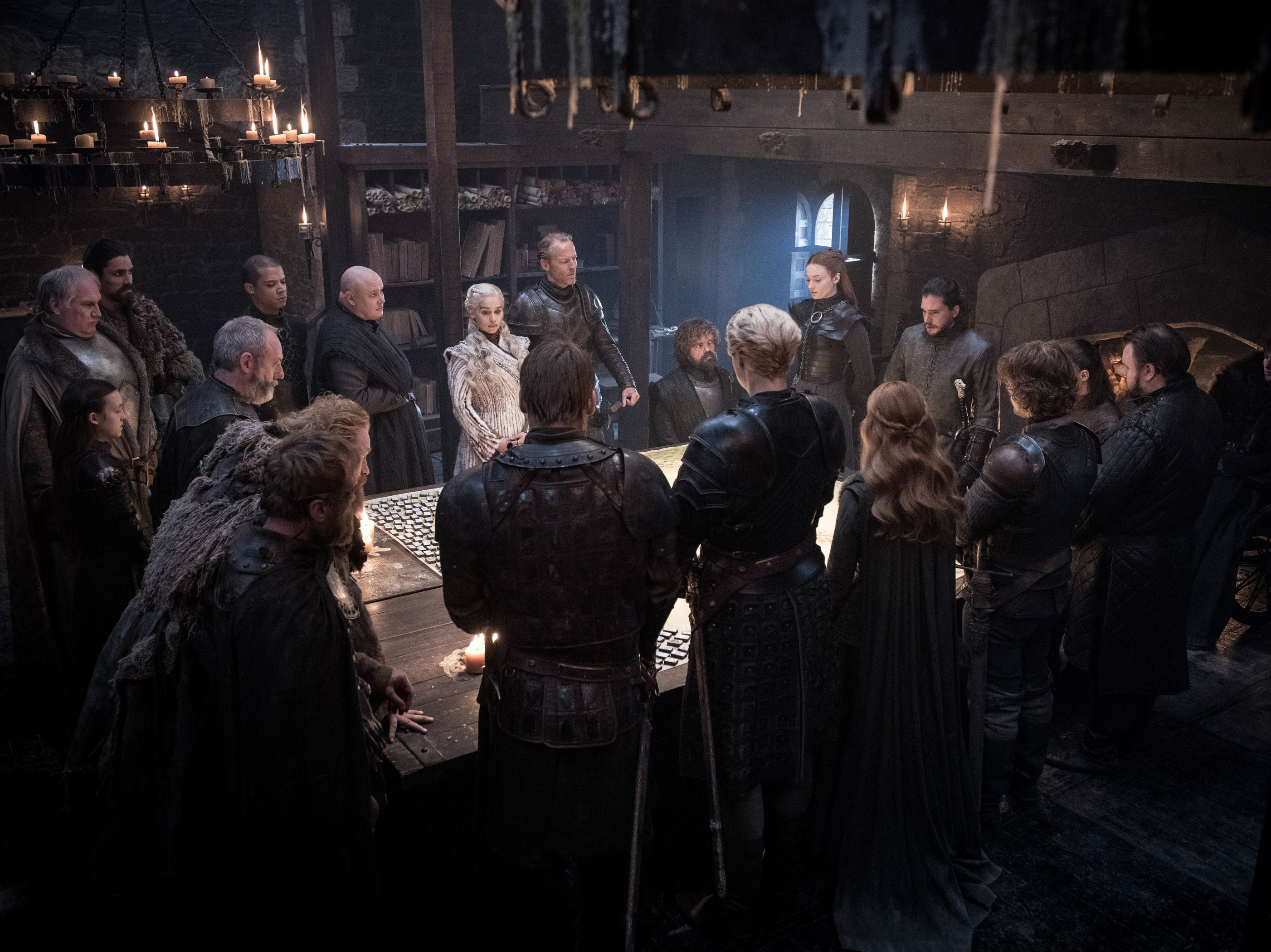 War strategy: Think of this as the Westeros version of the White House Situation Room.