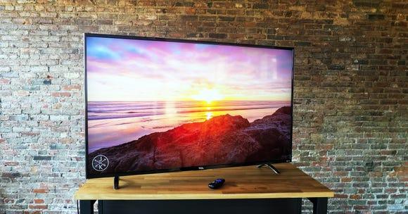 You can't go wrong with a TCL TV if you want 4K on a budget.
