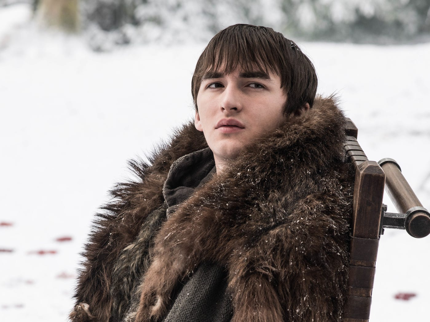 Isaac Hempstead Wright as Bran Stark on 'Game of Thrones.'