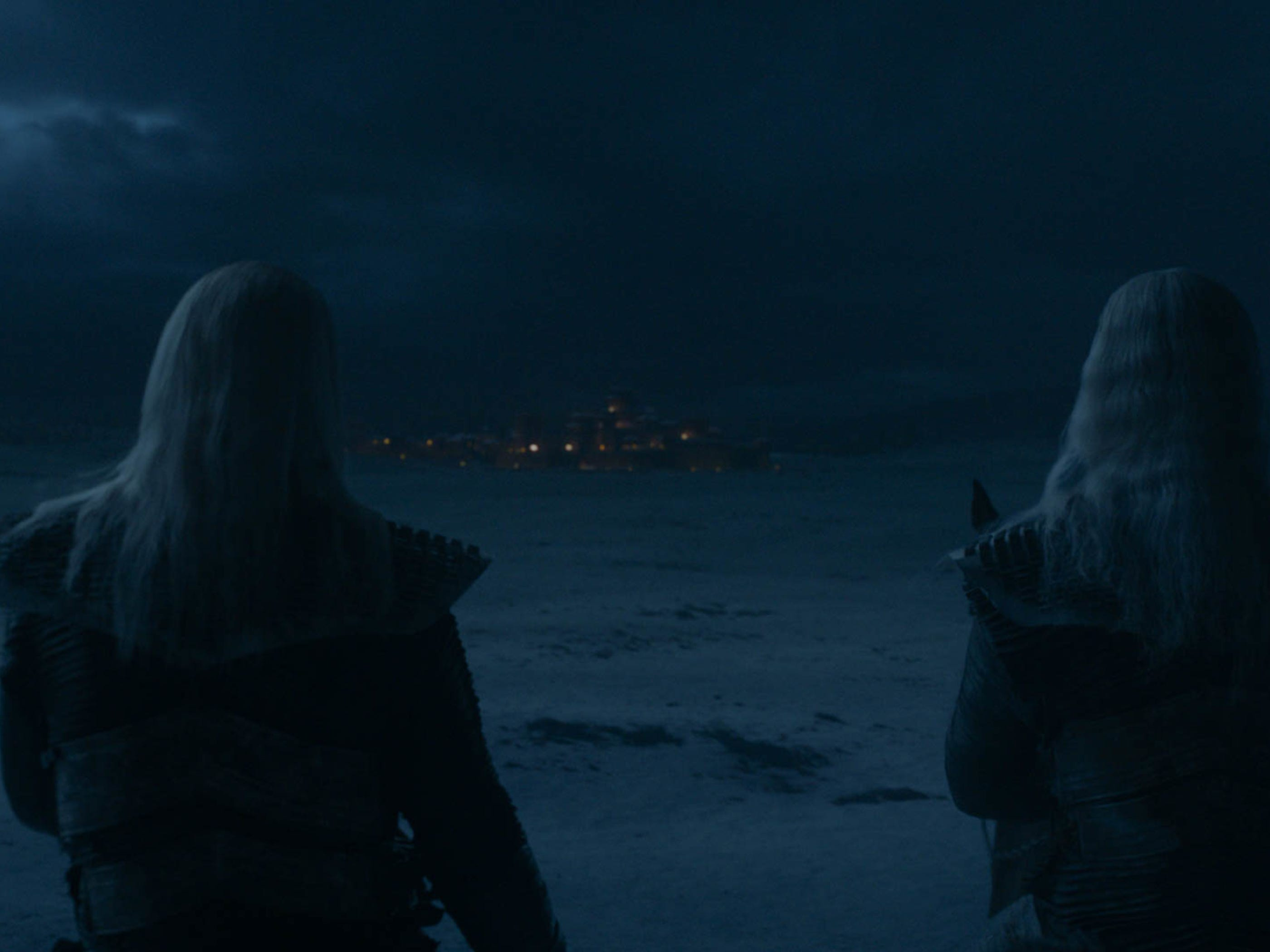 This looks very dark and White Walker-y.