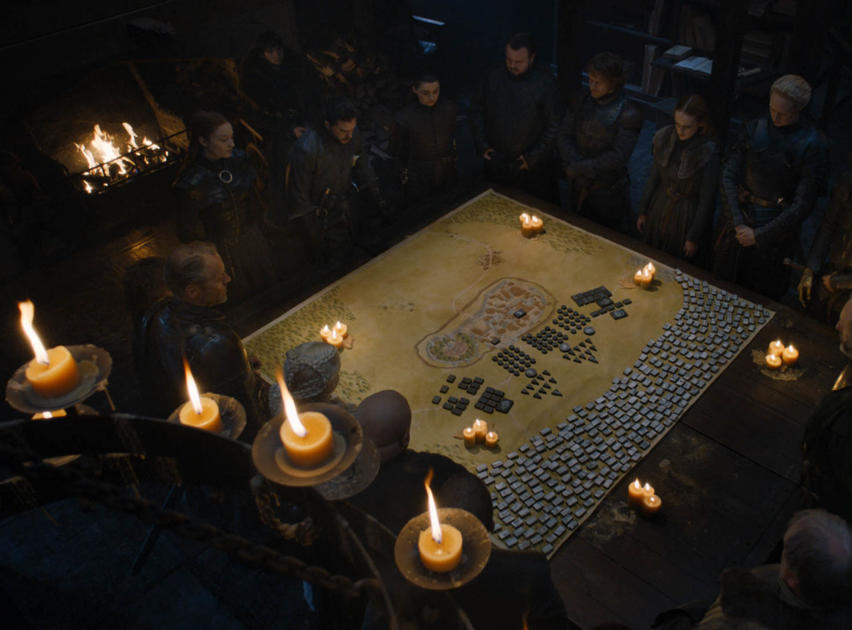 When you play the Game of Thrones, you win or you die. And, you play board games!