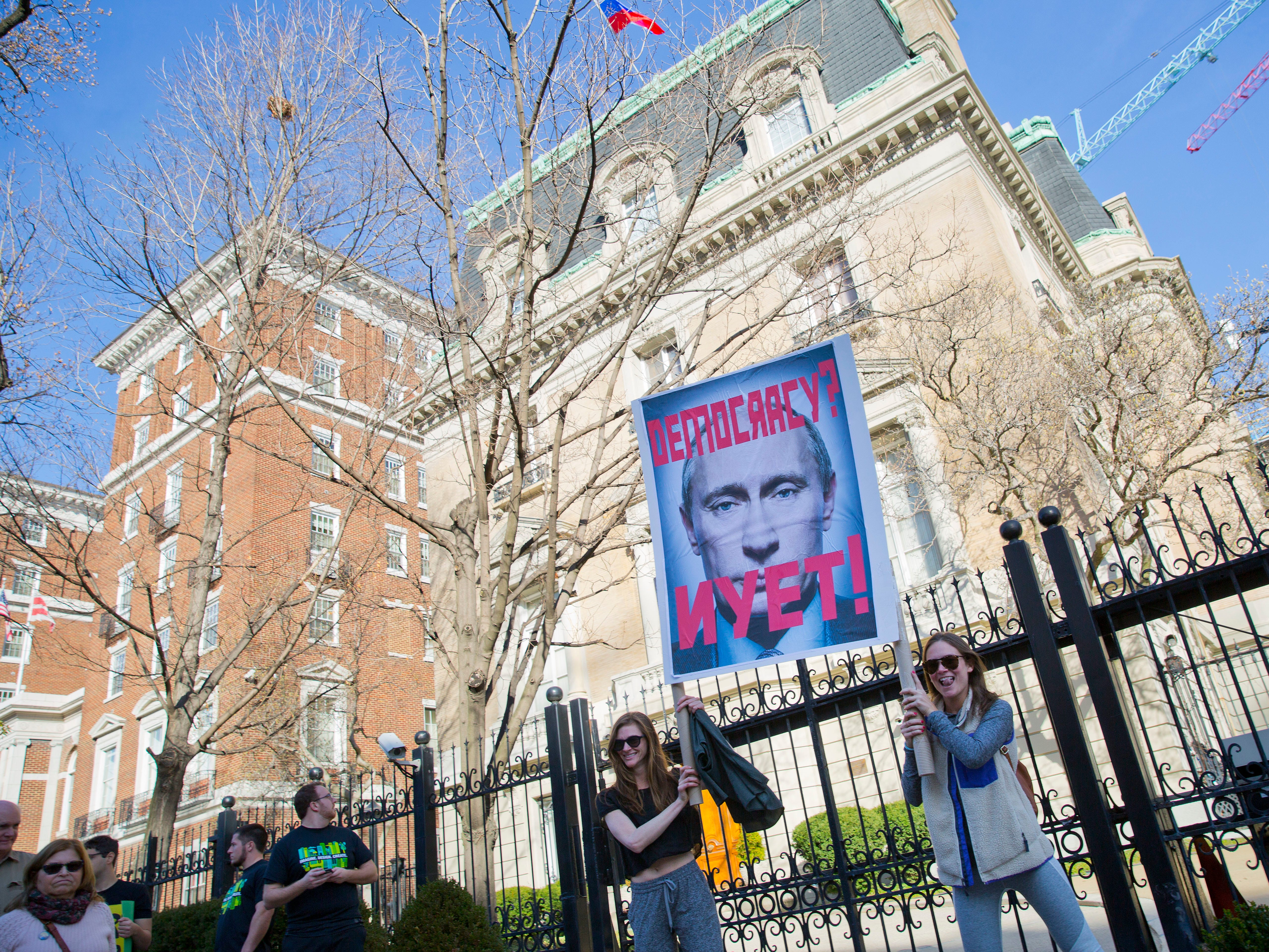 Mueller report indicts Russia. Will Trump protect the 2020 election against Putin?