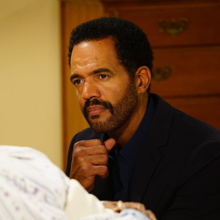 "Kristoff St. John as Neil Winters in a 2016 episode of ""The Young and the Restless."""