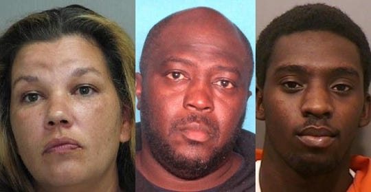 (From left) Tabitha Lee Gray, Lacentrusa Baron Mayweather and Paul Nash Jr.