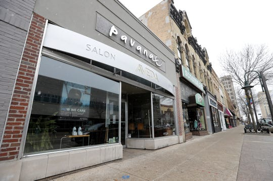 Pavana Salon moved out of its building on E. College Avenue in downtown Appleton. The building is now for lease.