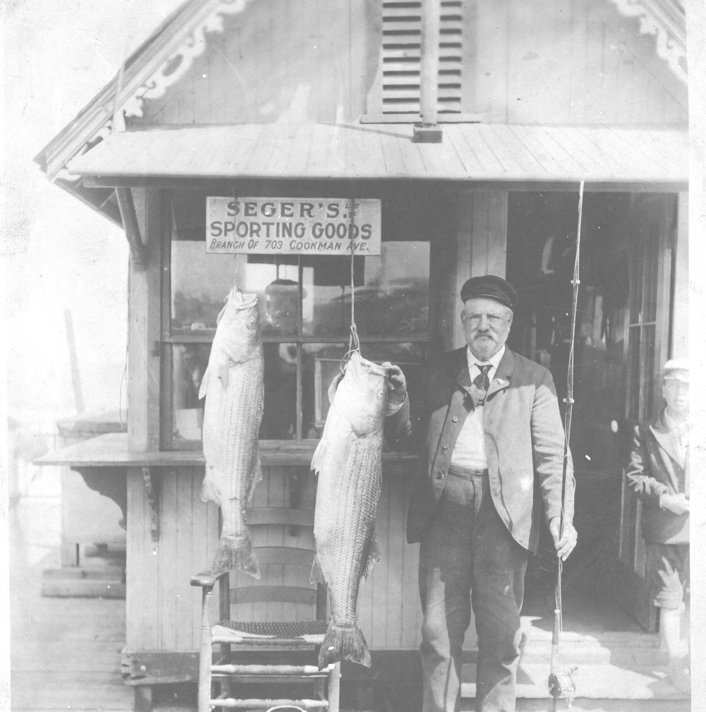 NJ history: historic photos of striped bass fishing in N.J.